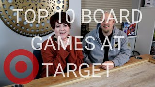 Top 10 Board Games You Can Buy At Target
