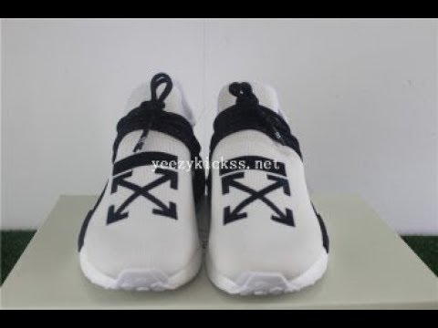 buy online 391f7 a668a First Look Adidas Nmd Human Race Off White Unboxing + review:yeezykickss.net