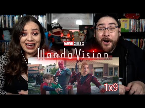 WandaVision 1x9 THE SERIES FINALE - Episode 9 Reaction / Review - Late to the Party
