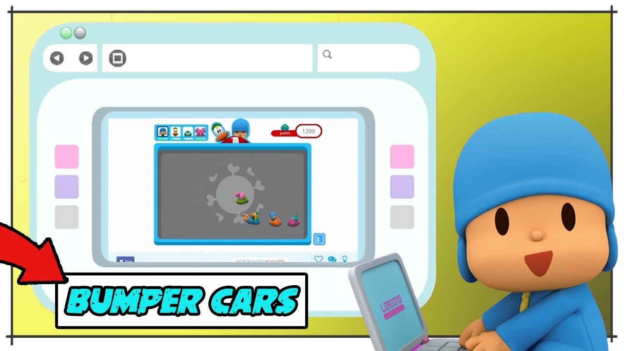 🎮 POCOYO GAMEPLAY - COMPETE to be the BEST in INTERACTIVE GAMES [ WEB: KID'S GAMES ] | Video games