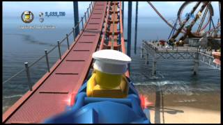 lego city undercover riding the roller coaster orion rockets