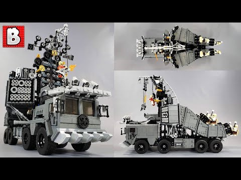 LEGO Doof Wagon Beats The Drums Of Action! MAD MAX Custom Build!