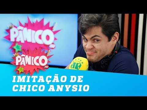 A hilária imitação de Chico Anysio de Lucas Veloso