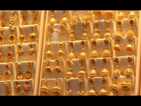 Latest Joyalukkas Jewellery Gold Earrings Collections