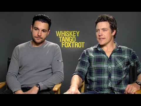 Whiskey Tango Foxtrot: Stephen Peacocke & Christopher Abbott Exclusive