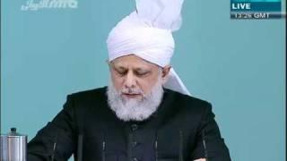 (English) Patience and steadfastness in everyday life - 19.11.2010 - Islam Ahmadiyya