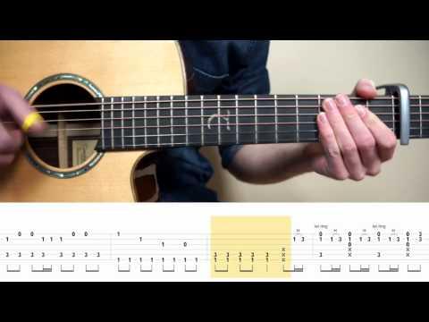 Alessia Cara/Auli'i Cravalho - How Far I'll Go (Moana) - Fingerstyle Guitar TABS Tutorial (Lesson)