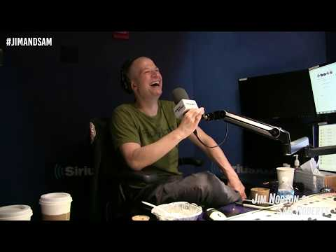 Rich Vos Has Trouble With His Headphones-- Jim Norton & Sam Roberts