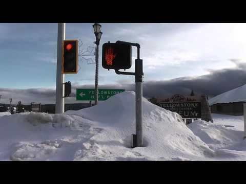 Winter West Yellowstone, USA