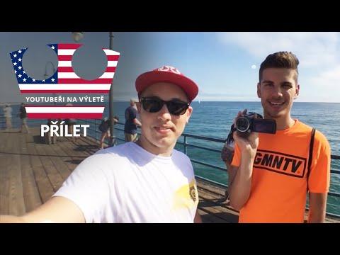 Youtubeři na výletě - Přílet do L.A. [VLOG] /w GOGOMANTV