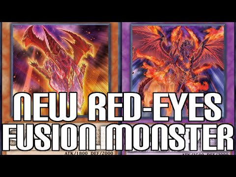 New Red-Eyes Black Dragon Fusion & Effect Monster - New Cards Revealed!