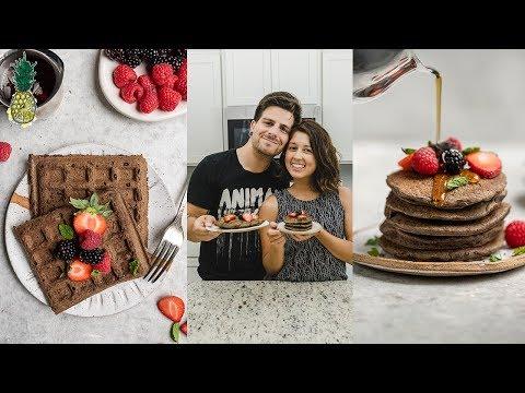Freezer-Friendly Buckwheat Waffles & Pancakes | Back To School Breakfast