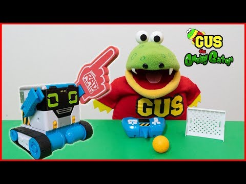Gus pranks Mom and Dad with his new robot buddy, MiBro!