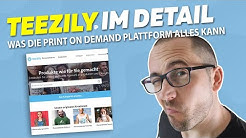 Teezily Print on Demand Plattform im Detail