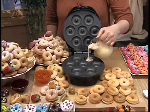 Как сделать пончики в аппарате гольфстрим рецепты