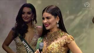 Miss Earth 2017: Semi-finalists Q&A hashtag segment