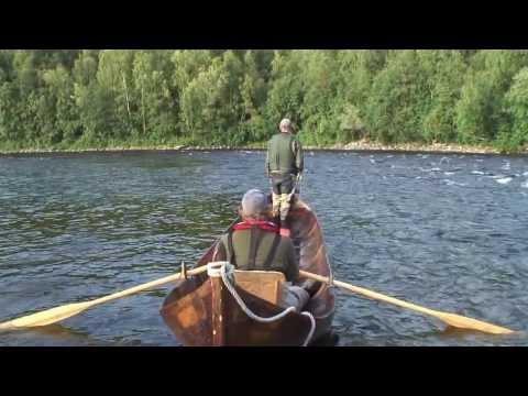 4.Fly Fishing Big Atlantic Salmon In The Alta River