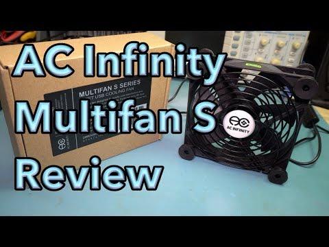 AC Infinity Multifan S Series USB Fan Review