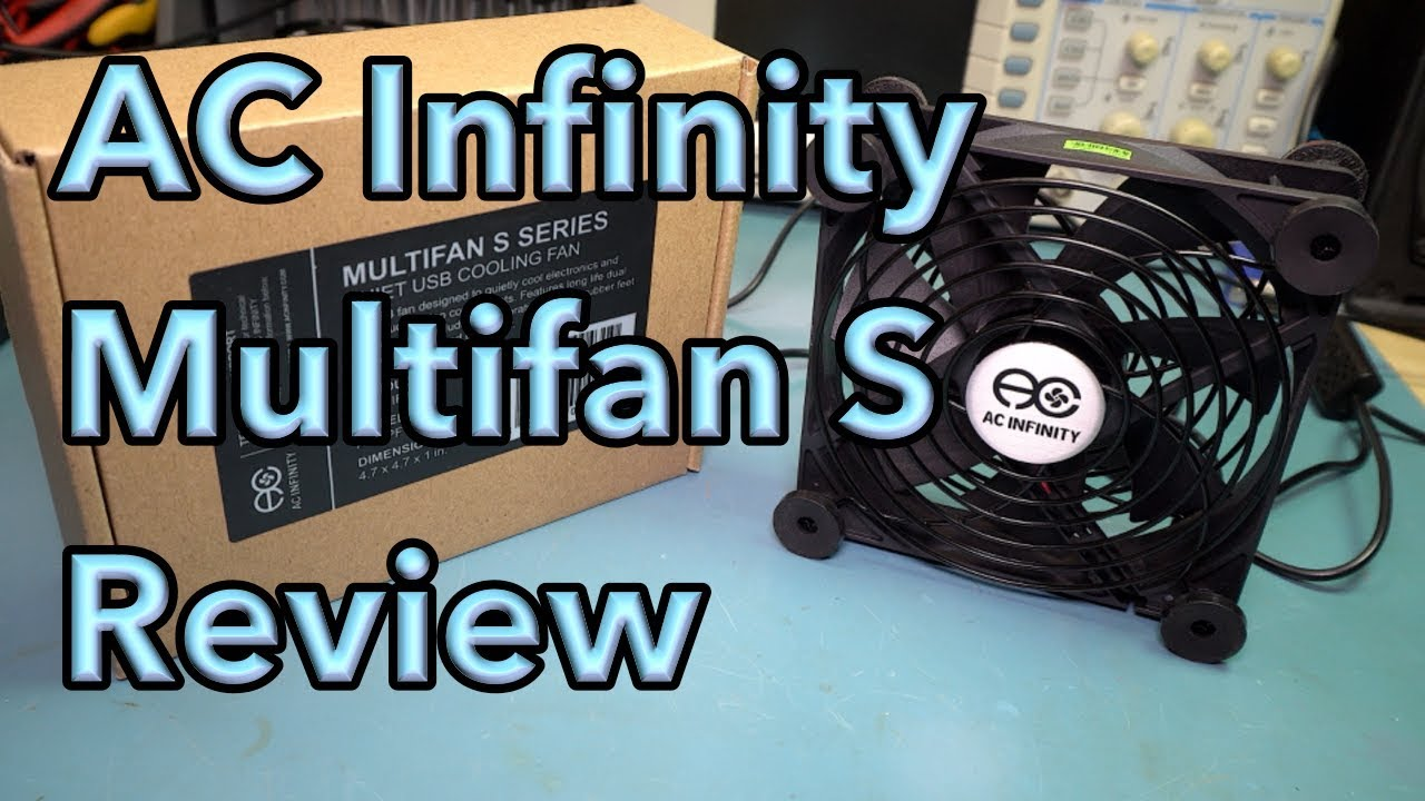 medium resolution of ac infinity multifan s series usb fan review