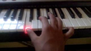 aarambam theme music in keyboard