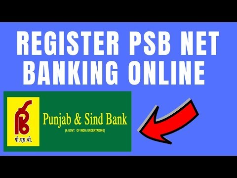 Punjab And Sind Bank Net/Internet Banking Registration | How To Register Net Banking In PSB
