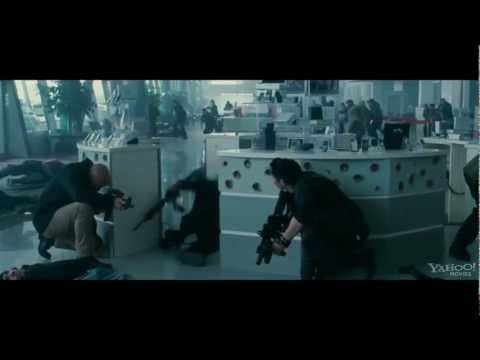 The Expendables 2 (2012) - Movie Clip #4 'Airport' (1080p HD) Action Movie