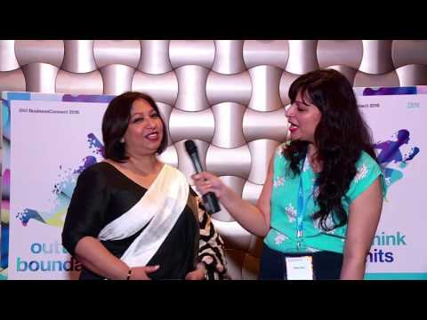 In Conversation with Sandra De Zoyza, Dialog Axiata at IBM BusinessConnect 2016