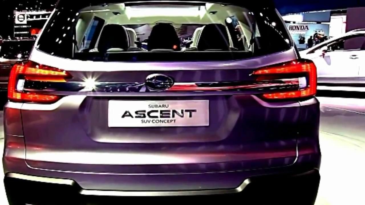 2018 Subaru Full Size Suv Ascent Luxurious Interior Exterior