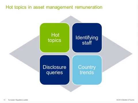 Link'n Learn - European Regulatory update - Deloitte Luxembourg