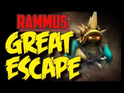 RAMMUS BEST ESCAPE EVER? - League of Legends