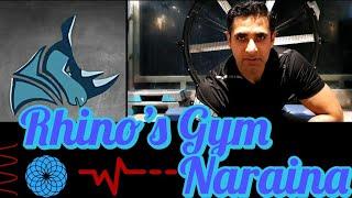 Well curated brand..  Rhino's Gym   Naraina   #GymTour   #Day490   Delhi   India