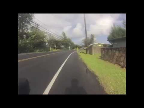 Kaneohe to Kokololio Beach Park and back