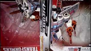 Trasformers review - Generations Hasbro Jetfire Vs Takara legends Jetfire