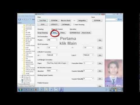 R Hani Prasetya - cara reset printer ip 2770.mp4: cara mereset printer canon ip 2770  ----- jika tidak bisa menggunakan cara ini ----- DOWNLOAD Service tool v3400 dan carax 1. jalankan Software Resetter Canon Service Tools V3400 yang telah di download. tapi terlebih dahulu di extract. 2. Di menu absorber Clear ink counter pilih Main kemudian klik SET di sebelah kanannya. 3. Di menu ink absorber counter pilih Main kemudian klik SET di sebelah kanannya.  4. Kemudian klik EEOPROM. maka printer akan cetak 1 halaman. 5. Printer akan normal kembali. Kalau belum tanyakan