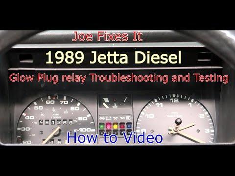 Glow Plug relay Troubleshooting and Testing