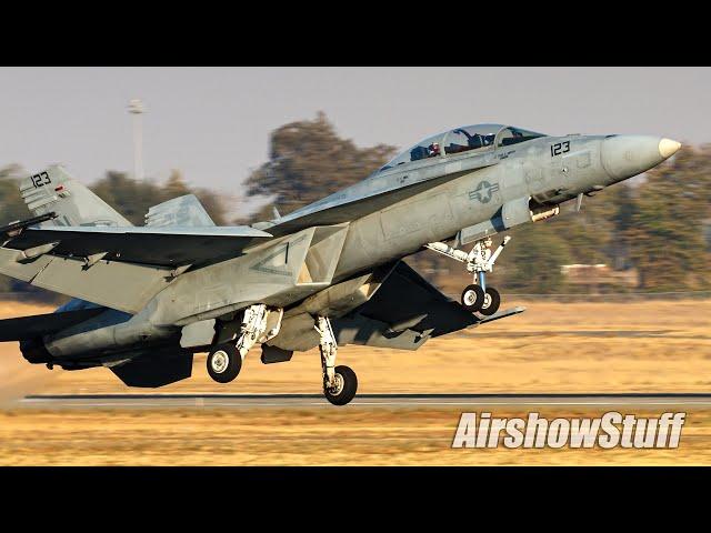 F-18 Super Hornet Evening Demo - California Capital Airshow 2021