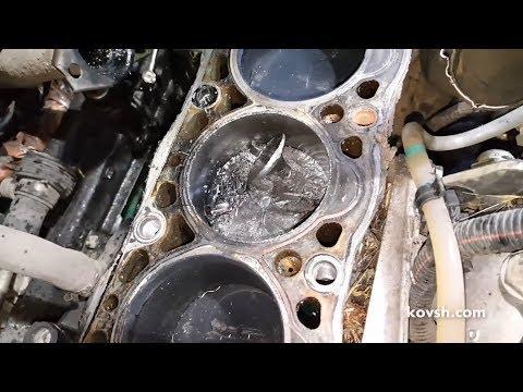 К чему приводит ошибка на 1 зуб при установке ремня ГРМ. Peugeot Partner 1.9d D9B