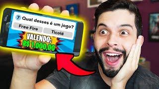 FIQUEI RICO?!? JOGO GRÁTIS QUE DÁ DINHEIRO DE VERDADE!!!