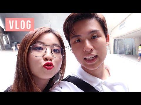 Korea Trip Vlog 2! BTS & Twice Star Avenue, Favorite restaurants, Hongdae