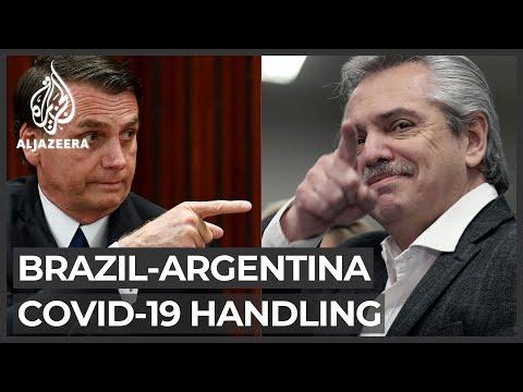 Bolsonaro criticises Argentina for handling of economy
