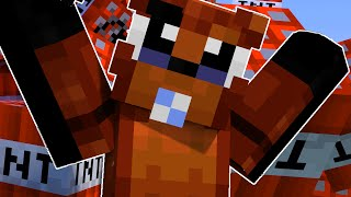 FNAF Who's Your Daddy?! - BABY FOXY BLOWS UP THE HOUSE?! (Minecraft FNAF Roleplay)