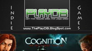 "PlayDB -  Cognition Episode 1: The Hangman - ""Indie Desura"""