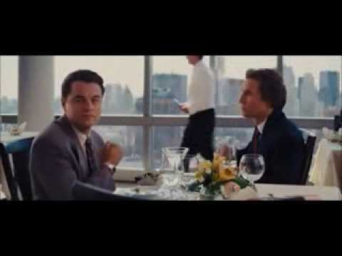 The wolf of wall street humming  COCAINE
