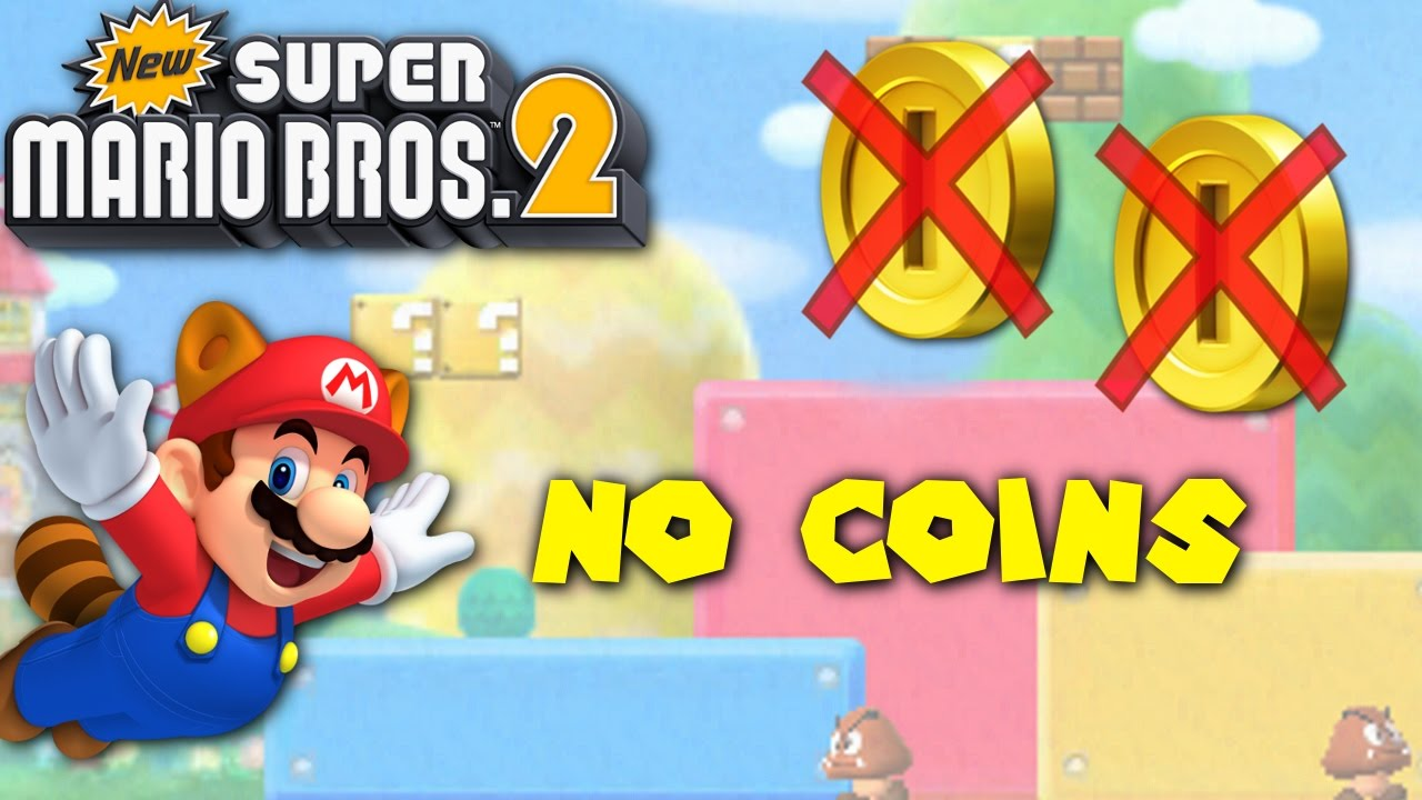 Can You Beat New Super Mario Bros 2 Without Collecting A Single