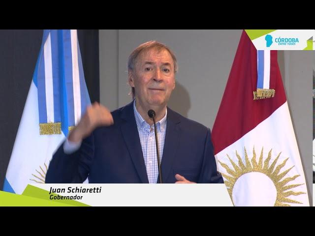 Schiaretti anunció medidas económicas para el sector turístico