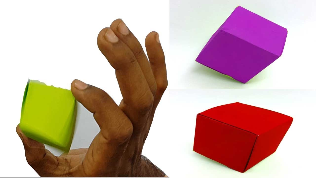 How To Make A Paper Seamless Cube