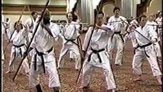 Yamani-Ryu Bojutsu Seminar - 1996 Las Vegas