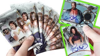 Gambar cover 5 HITS PULLED! TOPPS WWE LEGENDS 2018 HOBBY BOX BREAK UNBOXING