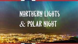 How dark in the POLAR NIGHT in Norway?