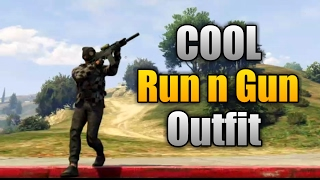 GTA 5 Online Awesome Run N Gun Outfit Tutorial